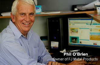Phil O'Brien - Owner of FJ Metals